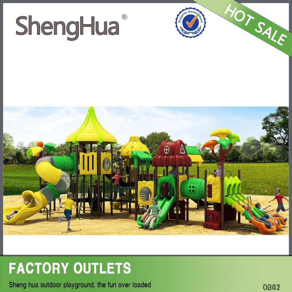 Ali Logistics support children outdoor playground set park