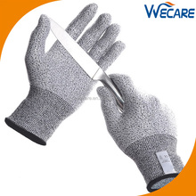 EN388 Cut Level 5 Kitchen Knife Protection Food Grade Cut Finger Gloves