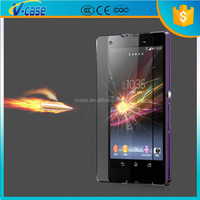 Chinese factory 0.3mm 9H Hardness 2.5D Anti-Broken, for sony xperia zr premium tempered glass screen protectors