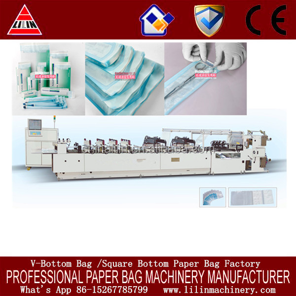 China Stable quality LL-600 Automatic Medical Sterilization Pouch Making Machine for sale