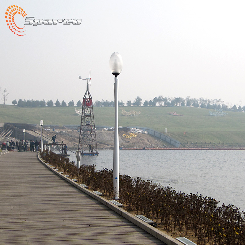 china manufacturer spun aluminium garden lamp post