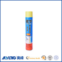 Expanded 750ml Can Construction Filling Agent Polyurethane Foam Sealant
