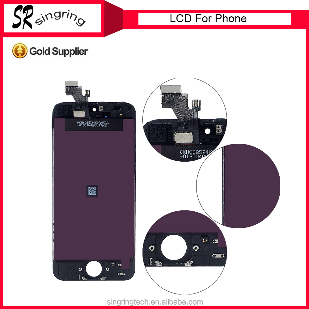 2016 free ship to order !! for iphone 5g lcd,for iphone 5 5g lcd display,lcd digitizer assembly for iphone 5g