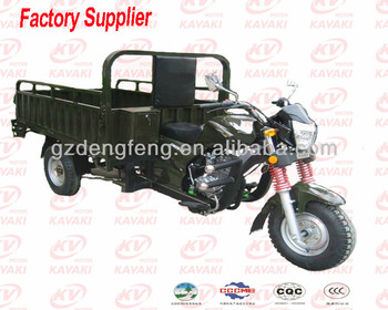 Max Load 200cc gas three wheel cargo motorcycle