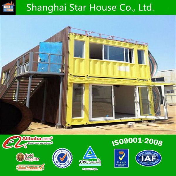 Steel frame panels container home