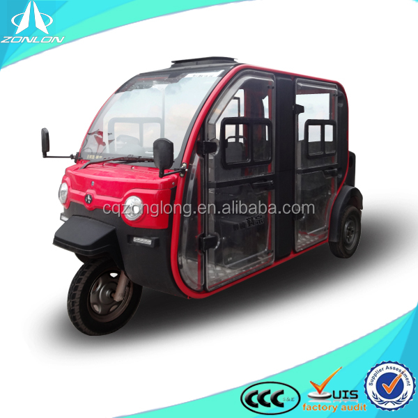 new china tuk tuk closed tricycle for passenger