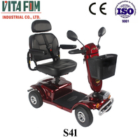 Smart Products 4 Wheel Electric Motorcycle for Disabled People