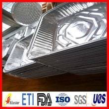Advanced technology round aluminum foil container with lids with low price