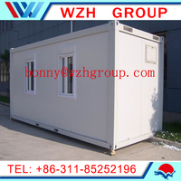 prefabricated customed office container house