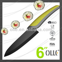 Double Color Ceramic Kitchen 6 Inch Chef Knife