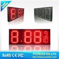 7 segment number board billboard \ numeric number display signage \ price number screen display