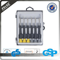 6 Pieces Precision Mini Screwdriver Set /China Manufacturer Hand Tools