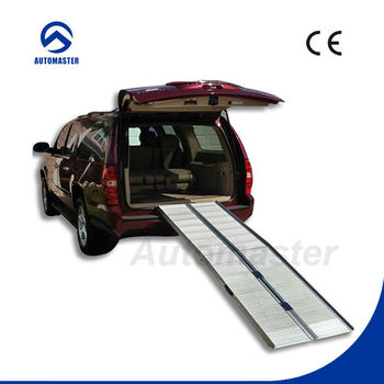 Aluminum Portable Wheel chair Ramps Multi Fold with CE