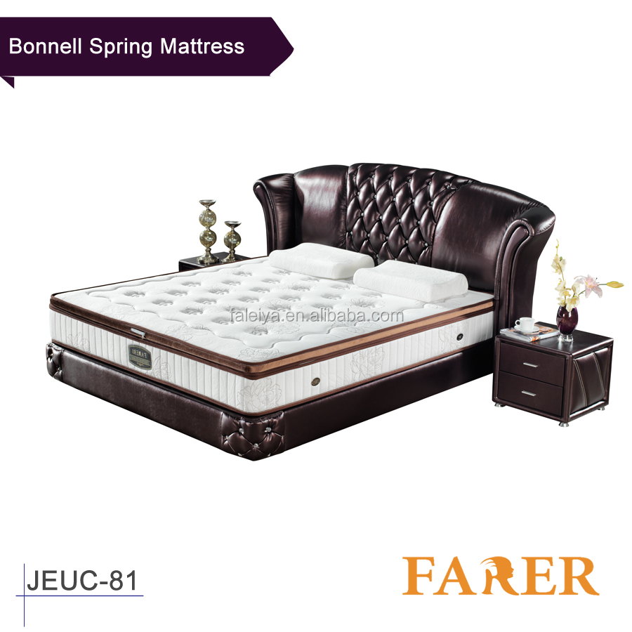 Hotel Used Mattress Elastic Moderate Sleeping Feeling Mattress Set with Quilt Jersey