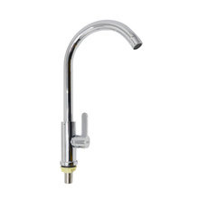 Stylish designed single level deck mounted kitchen faucet tap