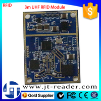 860~960Mhz Oem Small 3M Short Range Rfid Card Reader/Writer Module With Display
