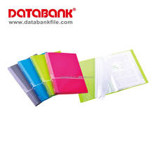 Student & Office Stationery A4 20 pockets with printing on cover Printed Clear File Folder