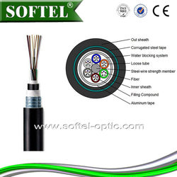 Made in China Outdoor fiber optic cable GYTA