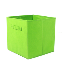 Custom Drawers Polyester Fabric Bins Folding Stackable Cardboard Customized Canvas Storage Box