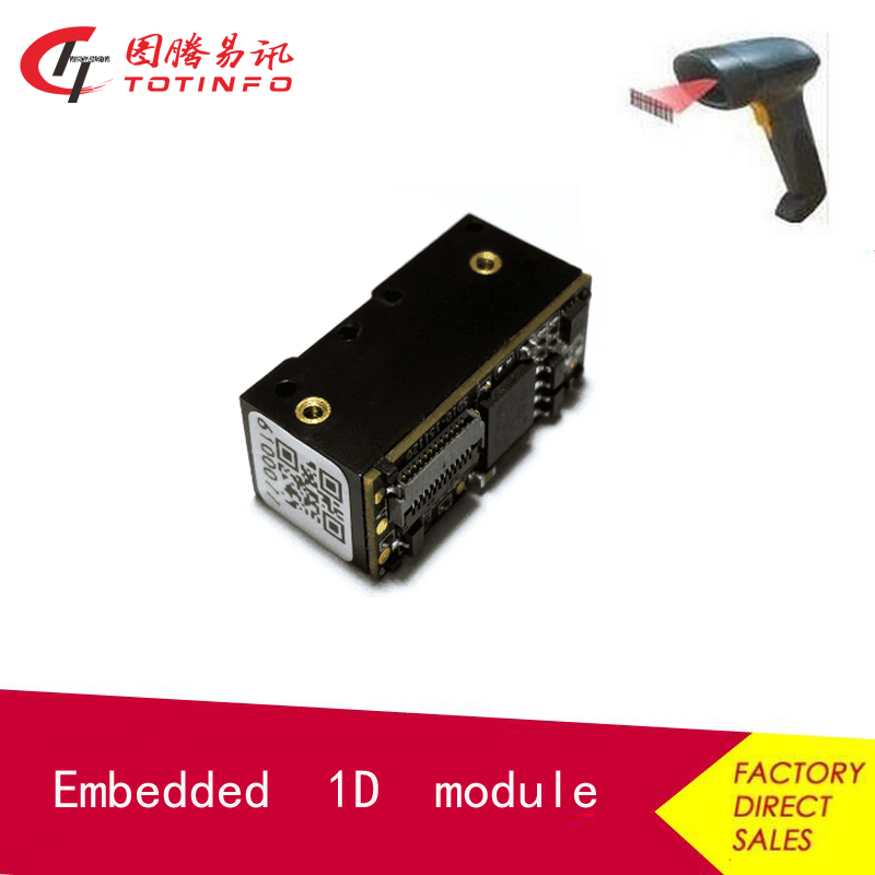 High Sensitive 1D OEM USB TTL232/RS232 Barcode Scanner Module for Price Checker