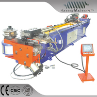 High quality hydraulic square tube bending machine with push bending function