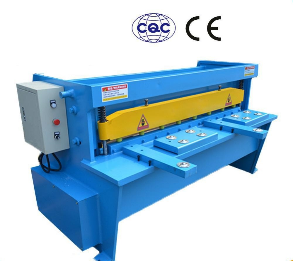 Low price 11 Series electrical metal steel iron plate shearing machine made in China