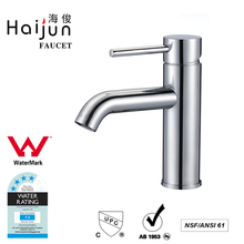 Haijun China Factory High Quality Single Handle Deck Mounted Watermark Basin Faucet