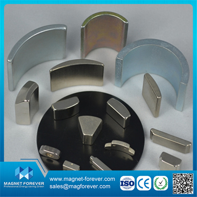 Customized neodymium small Arc Segment magnet for sale with high quality