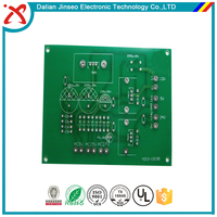 Fr4 through hole standard thickness solder mask copper pcb