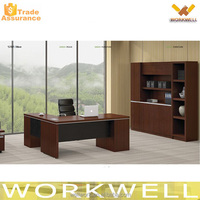 WORKWELL Executive Wooden Office Desk/Standard Office Desk Dimensions S4-181B