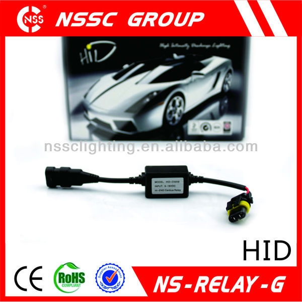 2013 NSSC hid relay wiring harness super canbus warning canceller canbus killer ce and rohs