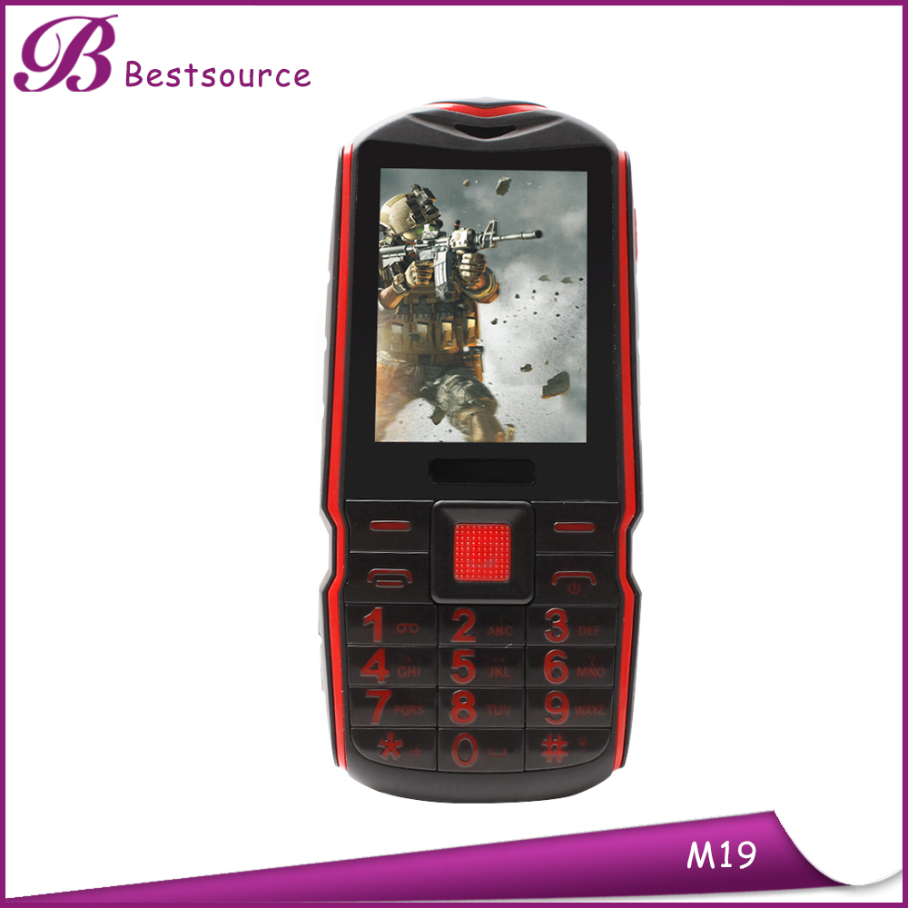 2.4 Inch Single CDMA mobile Discovery IP65 Waterproof Rugged feature Phone