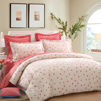 LOVO xisily 100% Cotton 4-Piece Bedding Sets,duvet sets ,duvet cover