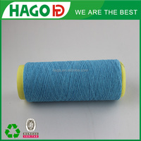 NM 12/1 ply recycled cotton polyester yarn 70/30 for knitting china suppiler