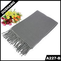 A227-B Winter Scarves Cappa Solid Color Scarf