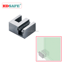 Bathroom shower accessories glass sliding door stop
