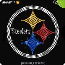 Steelers Rhinestone Hot Fix Transfer
