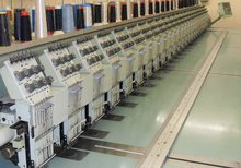 tajima flat embroidery machine 20HEADS