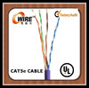 high quality pvc jaket cat 5e cu electrical flexible cable wire 10mm with UL