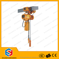 Construction Hoist Usage and Electric Power Source hoist tackle
