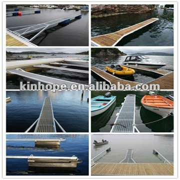 Caission Launching Floating Pontoon