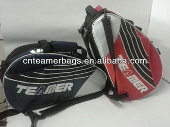 Popular beach tennis bag Racquet Bag with 3compartment