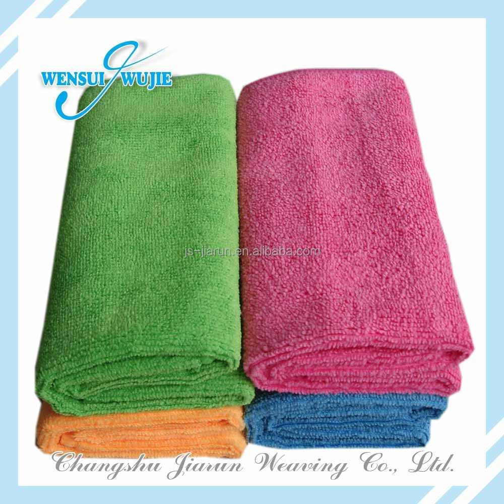 2017 Hot sale high absorption colorful microfiber towel car cleaning products