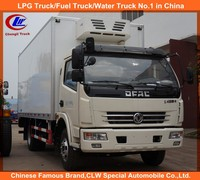 Dongfeng 4*2 Cooling Van Truck Dongfeng Mini Refrigerated Truck Dongfeng Mini Fozen Food Transport Truck