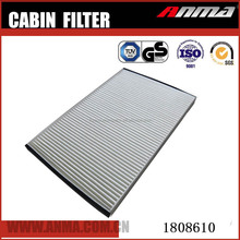 Auto car engine parts cabin filter for OEM 1808610