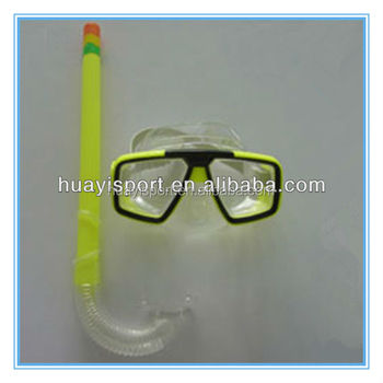 Professional hot sale hunting snorkeling scuba silicone dive mask
