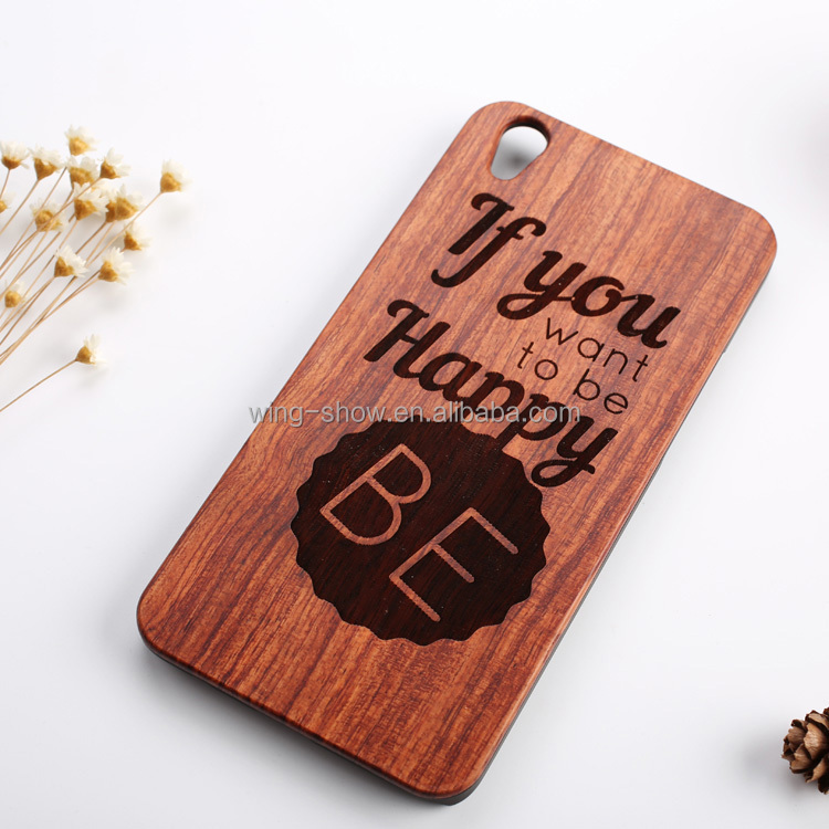 Free sample 2107 new design real wooden case for oppo mobile phone,wingshow