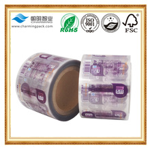 custom printing mineral water bottle rolled label