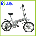 2016 best sell green power cheap folding kids electric bicycle price