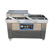 Double Chamber Commercial Vacuum Packing Machine for food, meat, fish